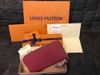 Louis Vuitton LV Pink Long Wallet