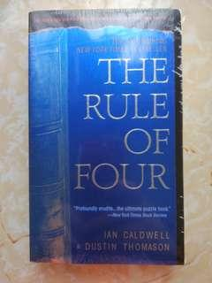 Brand-new The rule of four 全新 四的法則