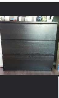 Preloved 3 drawer Chest Cabinet