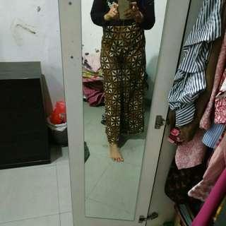 Kulot pants batik