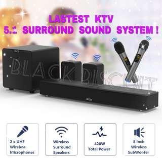 Karaoke SoundBar KTV Surround Sound System
