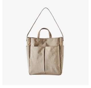 ithinkso HEN DAY SHOPPER BEIGE