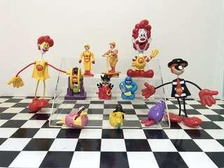 🚚 👉(直購文)#麥當勞 老玩具 👈 #麥當勞叔叔 #漢堡神偷 #大鳥姐姐 #奶昔大哥