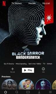 Netflix Premium (1 month)