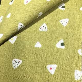 🚚 飯糰 布料 布 棉麻布 3碼