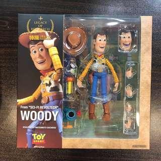 正版海洋堂 Toys Story Woody 胡迪 公仔