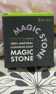 April Skin Magic Stone Soap- Day