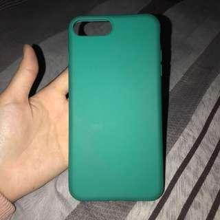 Green iPhone 7 plus case