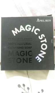 April Skin Magic Stone soap night