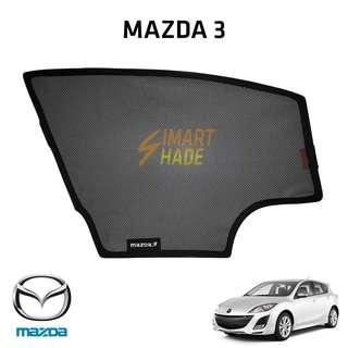 Mazda 3 Hatchback (Year 09-13) Simart Shade Premium Magnetic Sunshade