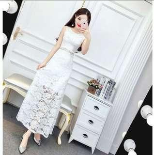 Brand New White Maxi Dress