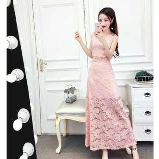 Brand New Pink Maxi Dress