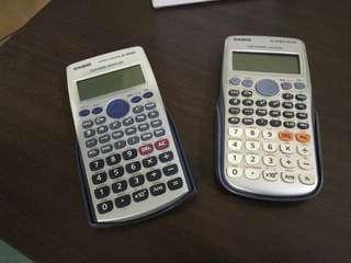 2 Casio Scientific Calculator - 570ES & Plus