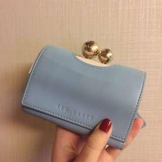 Ted Baker Wallet 粉藍配粉紅
