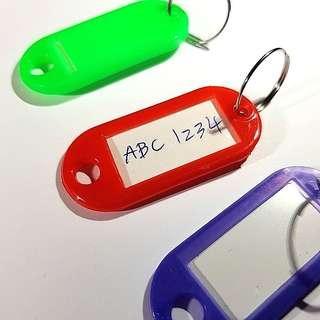 Name Tags Key Chain