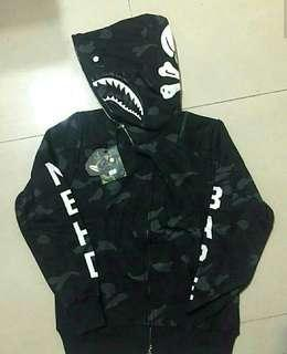 Bape x neighborhood camo hoodie PERFECT QUALITY
