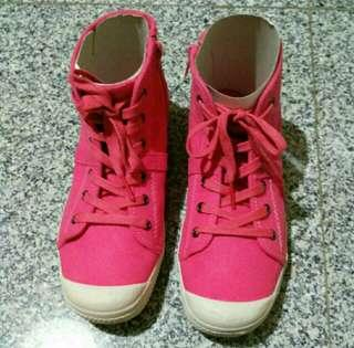 Pink Ankle Boots (Free ongkir*)