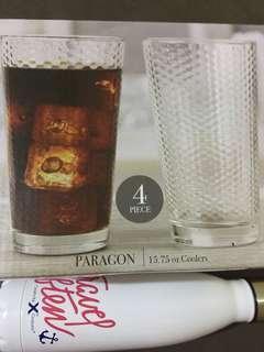 4 Piece Drinking Glass