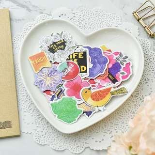 Die Cut Stickers - BH