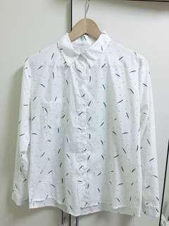 🚚 韓版文青襯衫