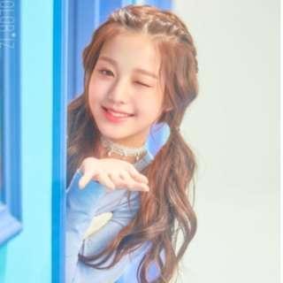 IZ*ONE Jang Wonyoung COLOR*IZ official poster