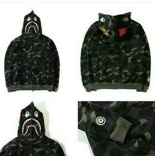 Bape shark black camo hoodie PERFECT QUALITY