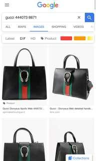 gucci dionysius authentic