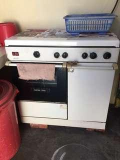 Zanussi Electric Oven Stove
