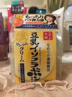 SANA Nameraka Honpo Wrinkle Care Facial Gel Cream 50g