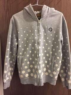 Stage 羅志祥品牌 潮牌 灰色點點外套