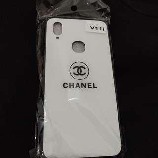 Chanel Tempered Case (White) for Vivo V11