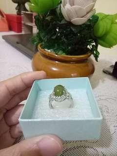 Cincin Batu Akik Takengon Original