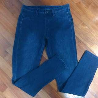 Uniqlo WOMEN Ultra Stretch Denim Leggings Pants