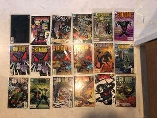 Batman Beyond comics books