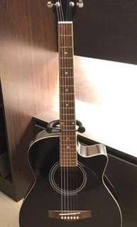 Fina Acoustic Guitar + Pickup and Tuner