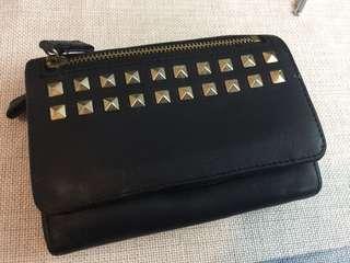 Agnes b 黑色銀包