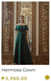 Used Once Apartment Eight Hermosa Gown