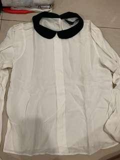 White long sleeves tee