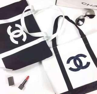 2019 Chanel Precision Makeup Tote Bag sequined