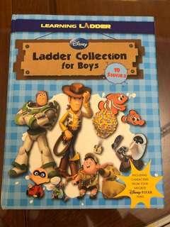 迪士尼英文故事書 Disney English story book 硬皮封面