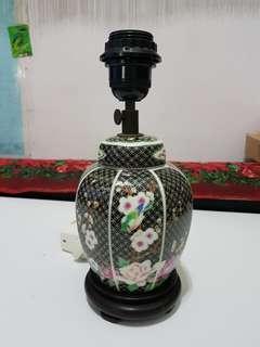 Cloisonne light holder