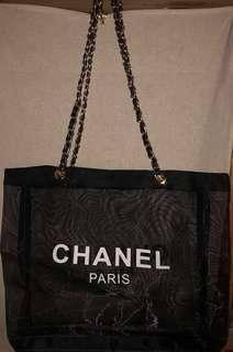 2019 Chanel Precision Makeup Summer Edition Mesh Tote Bag