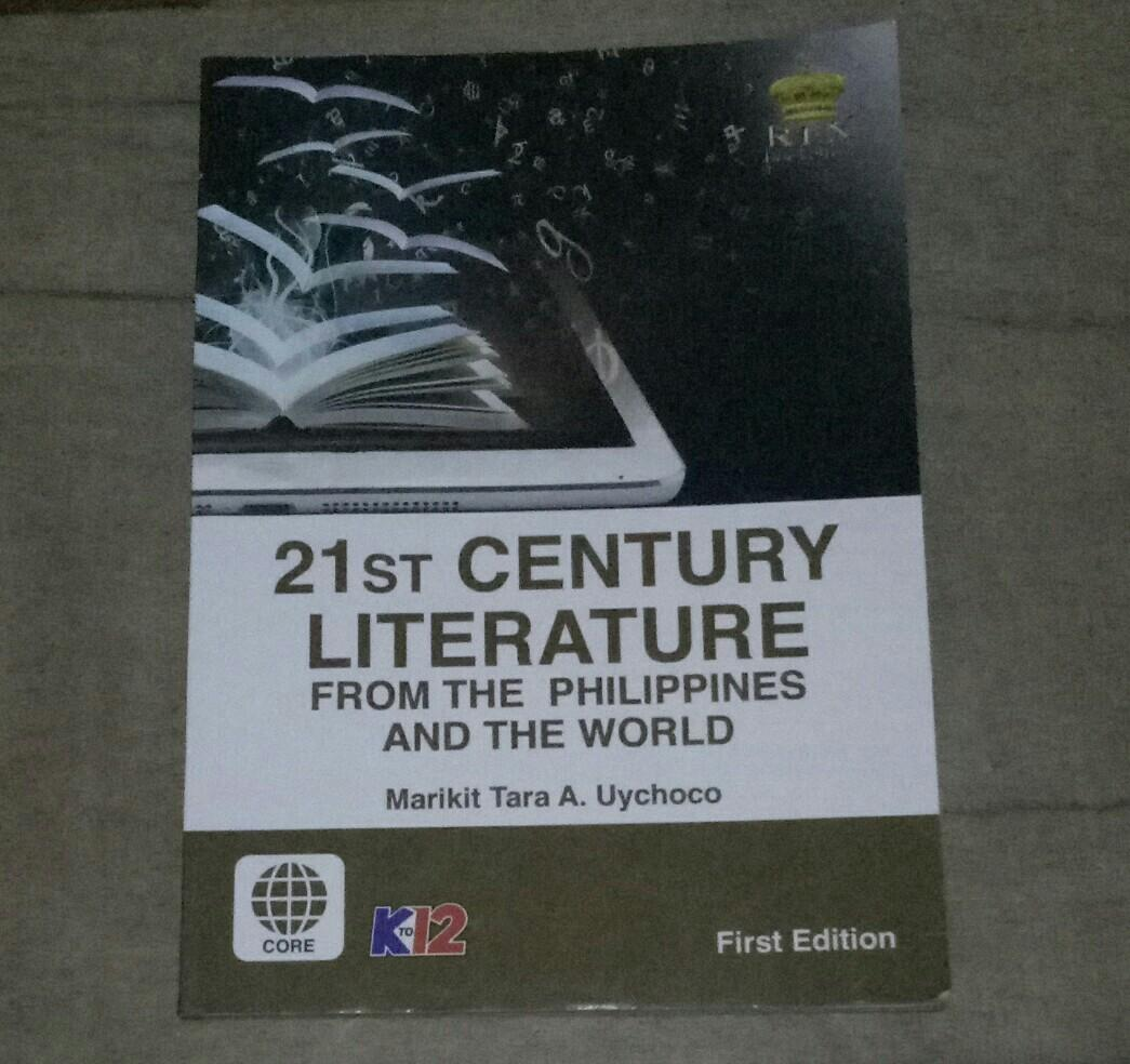 21ST CENTURY LITERATURE FROM THE PHILIPPINES AND THE WORLD (SHS BOOK)