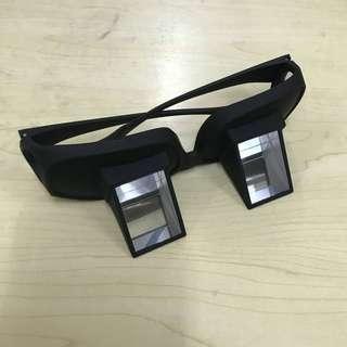 懶人床上睇手機眼鏡