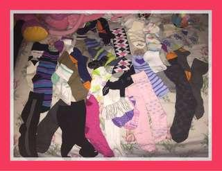 FREE!!! Assorted socks for DIY projects