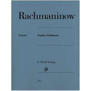 BN Études-Tableaux by RACHMANINOW, SERGEI - Piano Solo Score