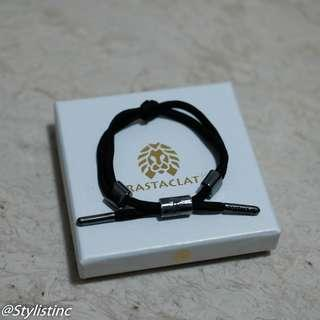 [Instocks!] Rastaclat Knotaclat Orion Black Bracelet