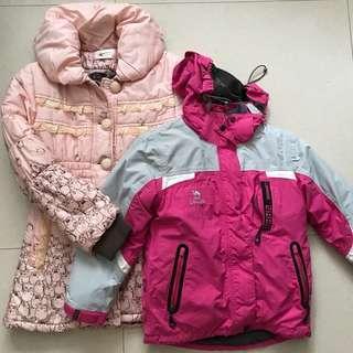 🌸 girls' winter jackets