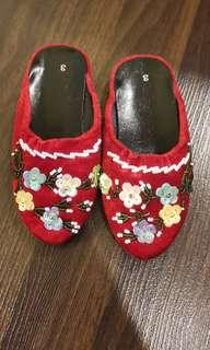 New CNY Girl Slipper
