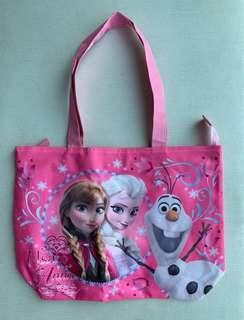 ❄️ 100%全新 迪士尼Disney 魔雪奇緣Frozen 手抽袋/手挽袋 Handbag